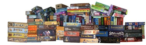Pile of Board Games Pile of Board Games Pile of
